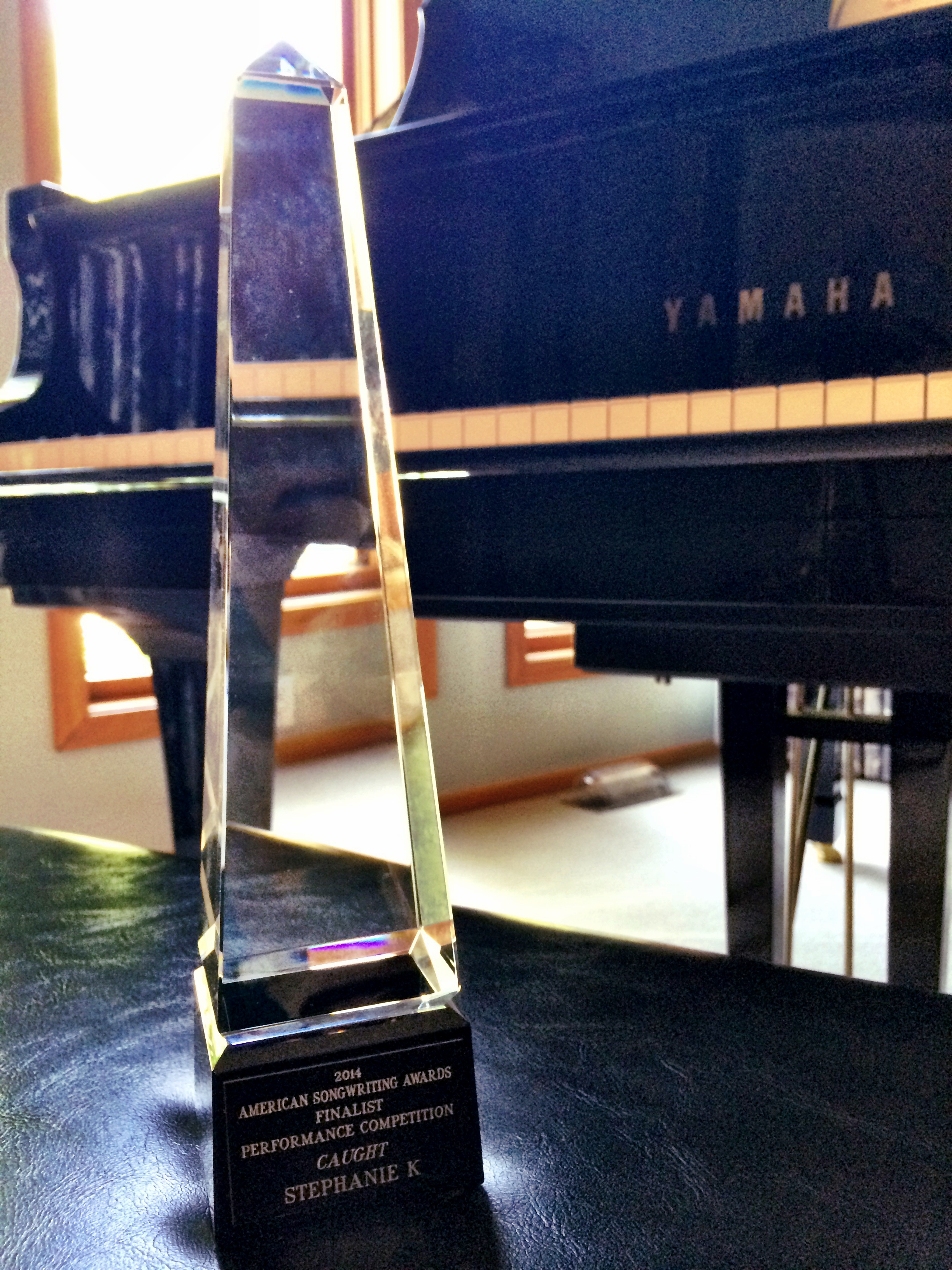 American Songwriting Awards Trophy!